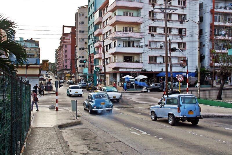 Straßen von La Habana Kuba stockfotos