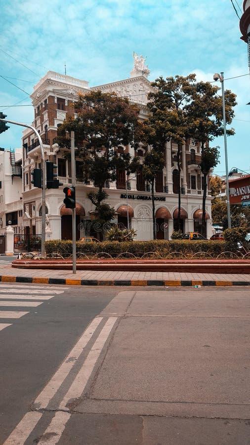 Straßen von Süd-Mumbai lizenzfreie stockfotografie