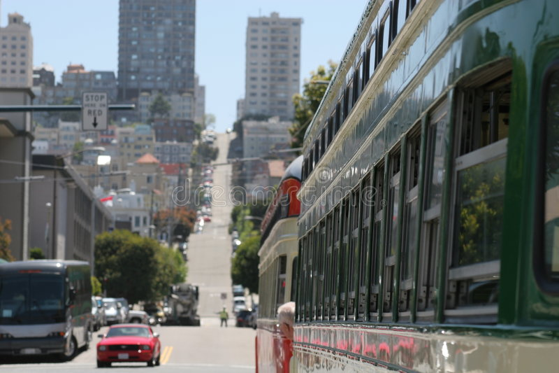 Download Straßen Von San Francisco 3 Stockfoto - Bild von streetcar, masse: 852044