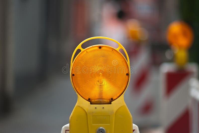 Straßenarbeiten stockbilder