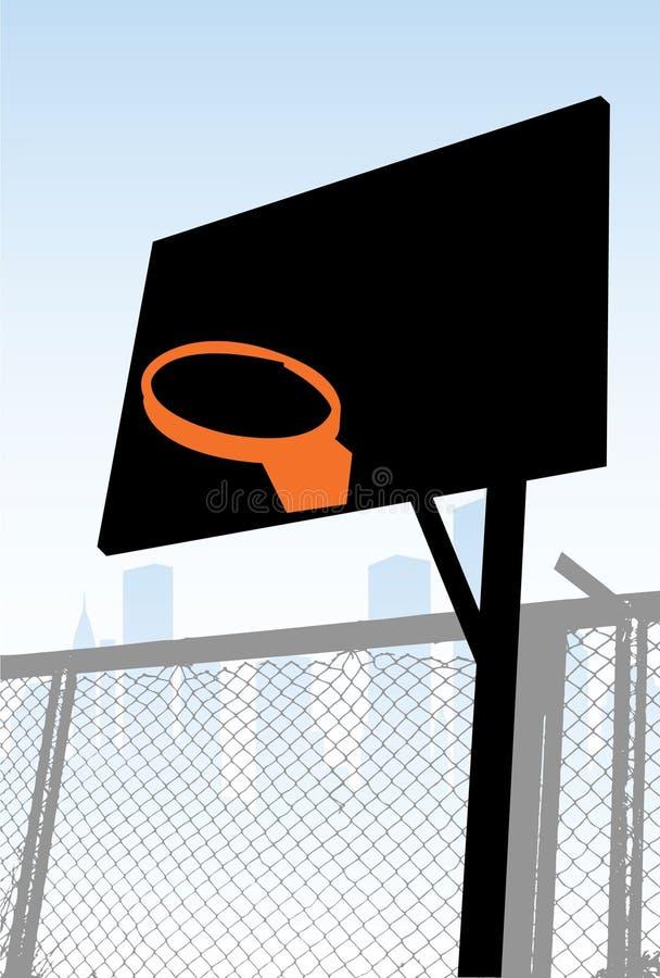 Straßenbasketball vektor abbildung