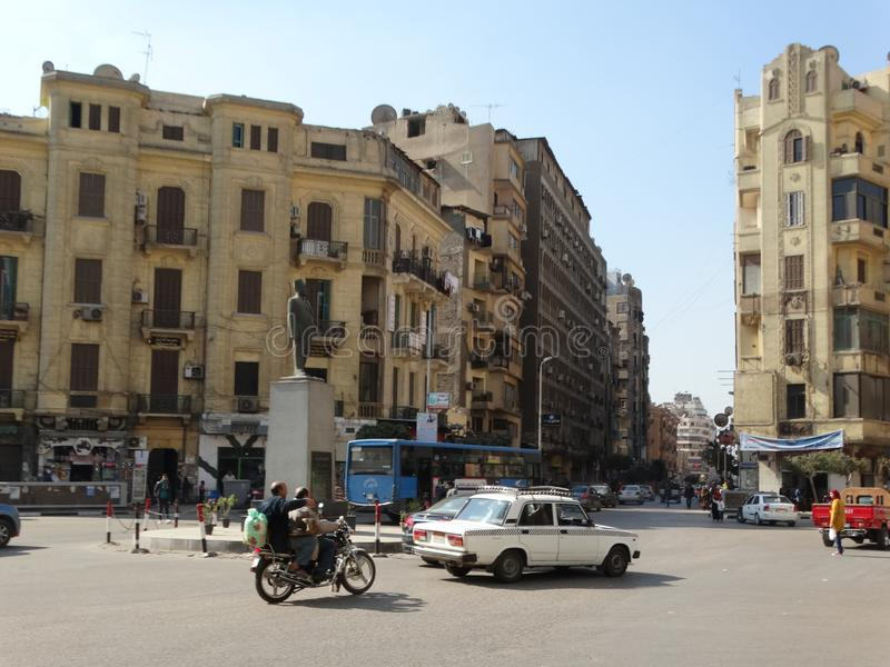Straßenbild von altem Kairo, Ägypten lizenzfreie stockfotos