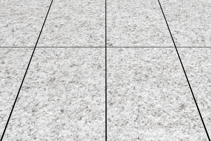 Straßenbodenfliesen als Hintergrund nahtlos und Muster stockfotos
