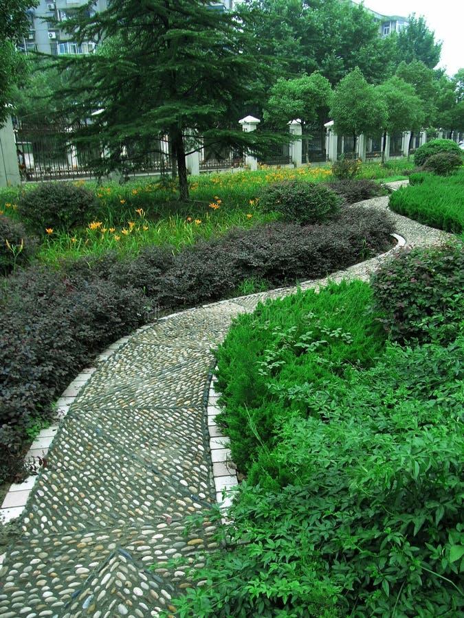 Straßengarten lizenzfreies stockfoto