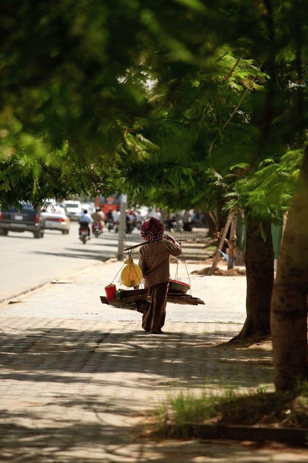 Straßenhändler stockfotos