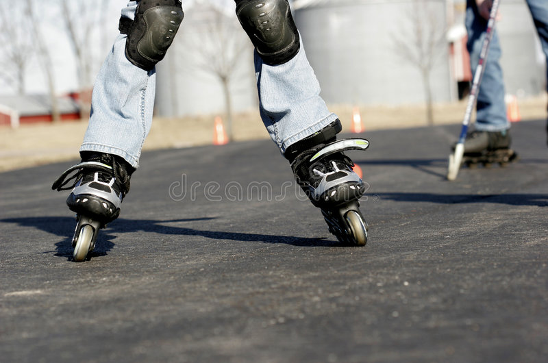 Straßenhockey stockfotos
