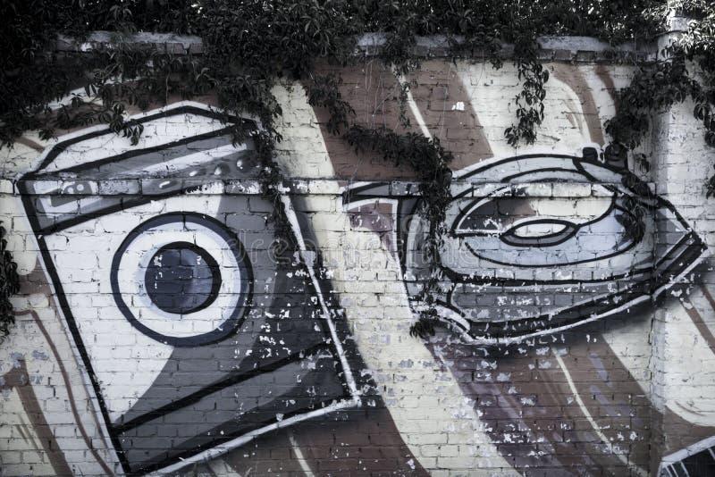 Straßenkunst Haushaltsgeräte lizenzfreie stockfotografie