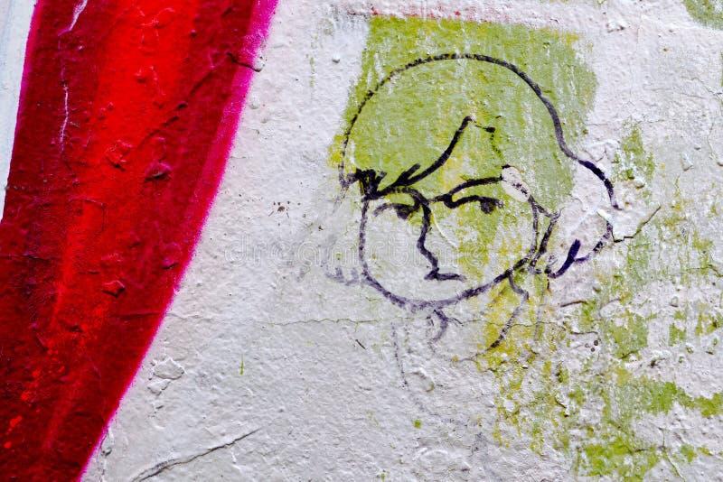 Straßenkunst ist Leben stockfoto