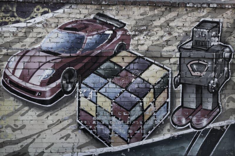 Straßenkunstspielwaren lizenzfreie stockfotos