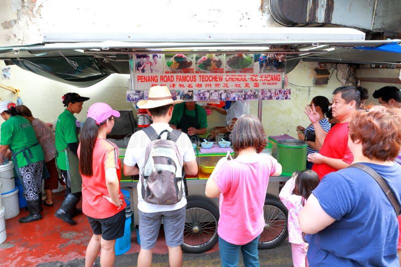 Straßenlebensmittel in Malaysia Penang lizenzfreies stockbild