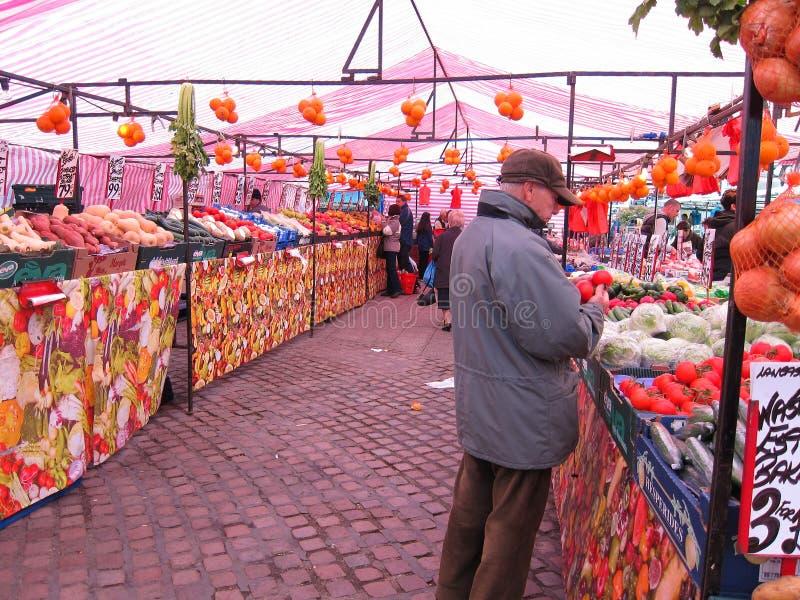 Straßenmarkt. stockfoto