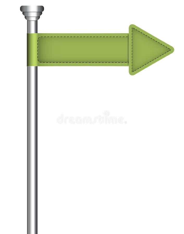 Straßenschild vektor abbildung