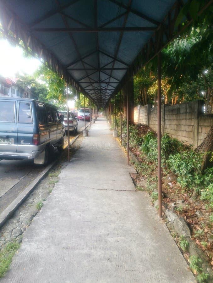 Straßenschuß stockbild