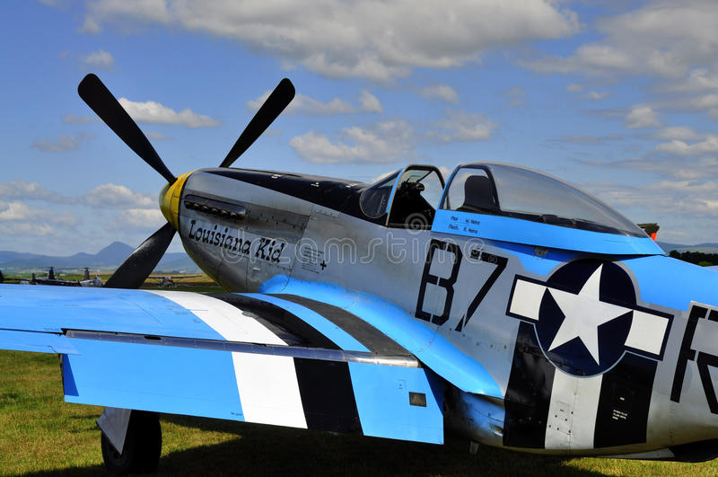 Straßenverkäufer-Hurricane-Kampfflugzeug stockfotografie