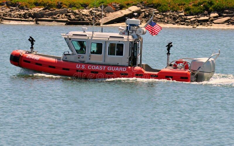 straż przybrzeżna łódkowaty patrol s u fotografia stock