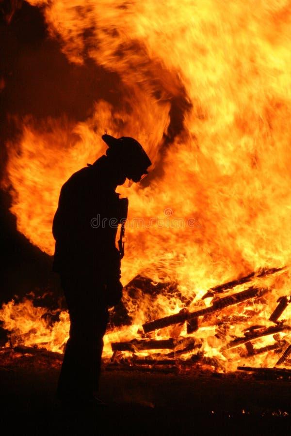 strażak obrazy stock