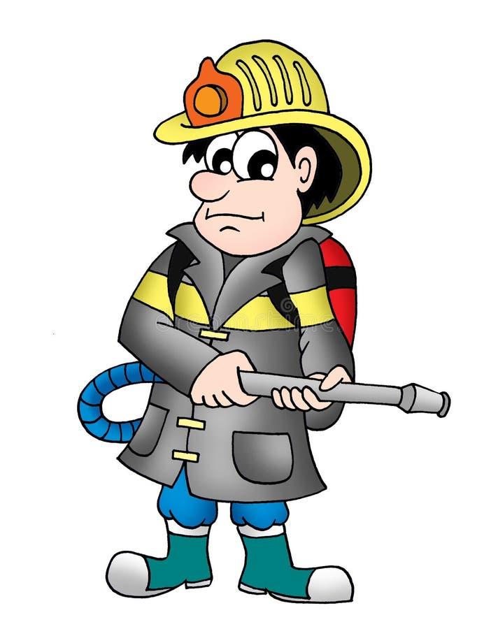 strażak ilustracji