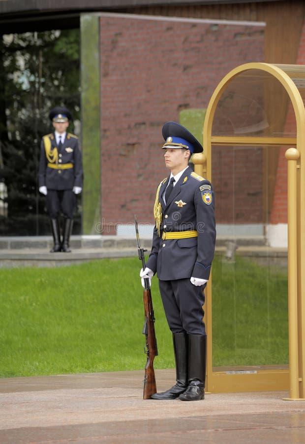 Strażnik honor zdjęcia stock