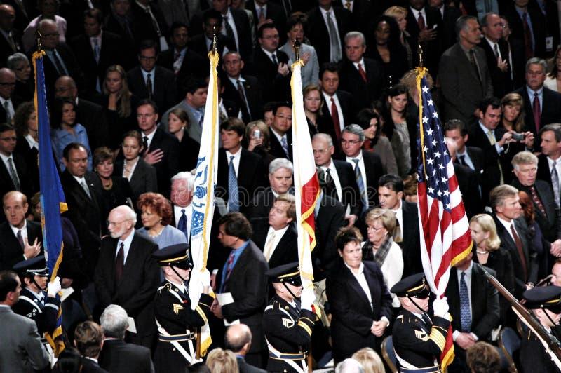 strażnik inauguracyjny koloru zdjęcia stock