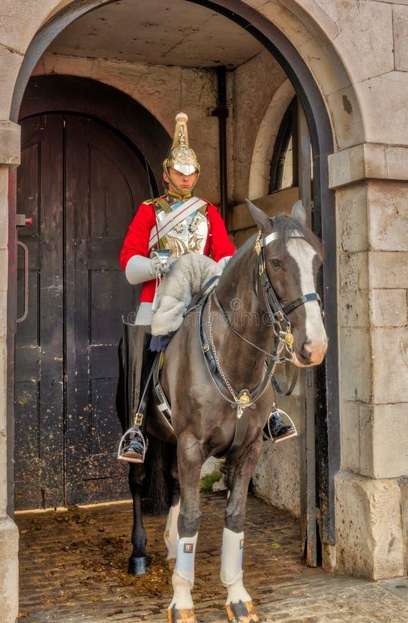 strażnik królewski końskiego London zdjęcia stock