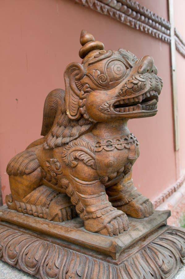 Strażowy lew zdjęcia stock