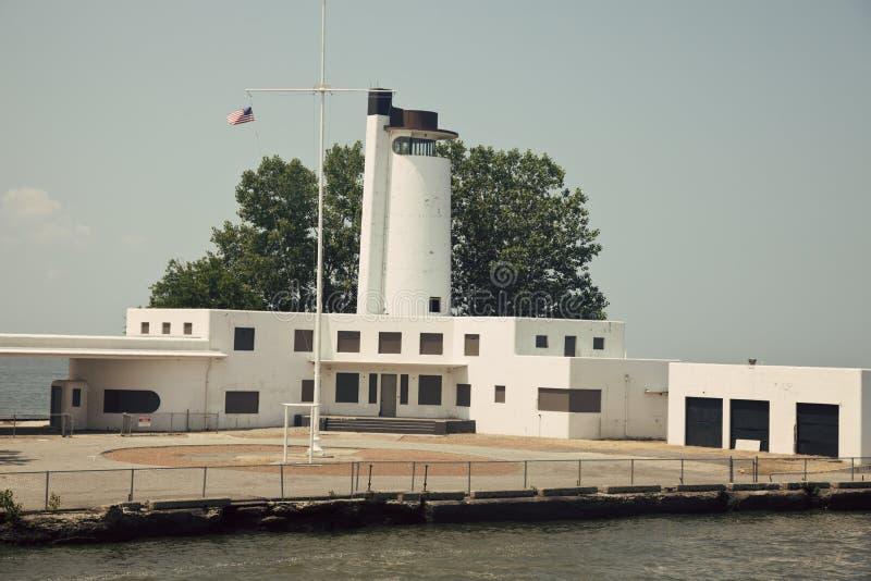 Straży przybrzeżnej stara Stacja obraz stock