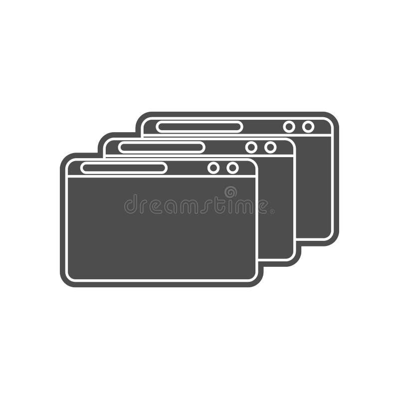 Stra?ensperrenikone Element von minimalistic f?r bewegliches Konzept und Netz Appsikone Glyph, flache Ikone f?r Websiteentwurf un stock abbildung