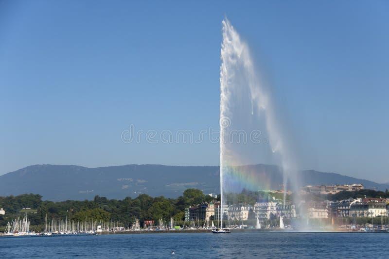 Straal D'eau royalty-vrije stock afbeeldingen