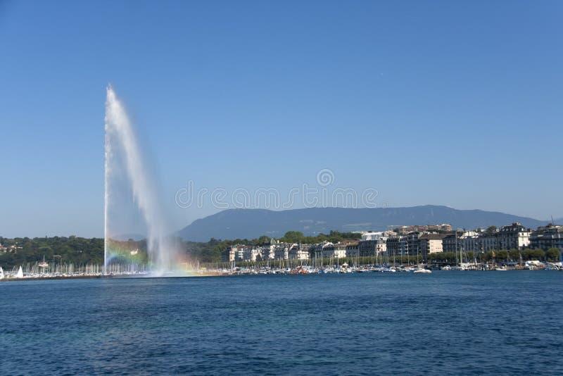 Straal D'eau royalty-vrije stock fotografie