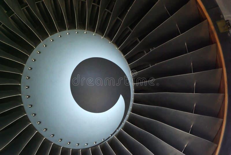 Straal turbine stock afbeelding