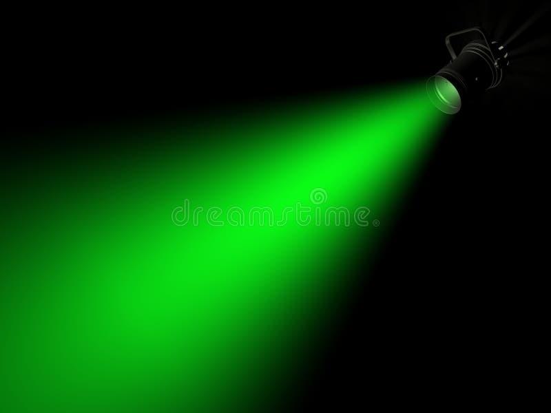 Straal van licht stock illustratie