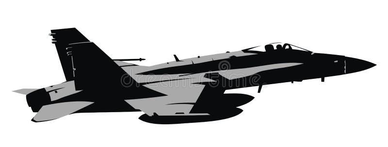 Straal vechter vector illustratie