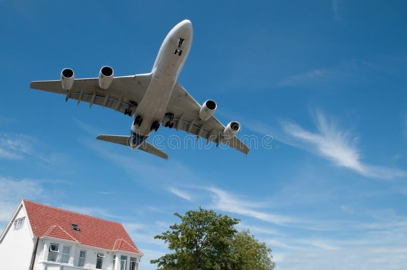 Straal vliegtuigen stock afbeelding