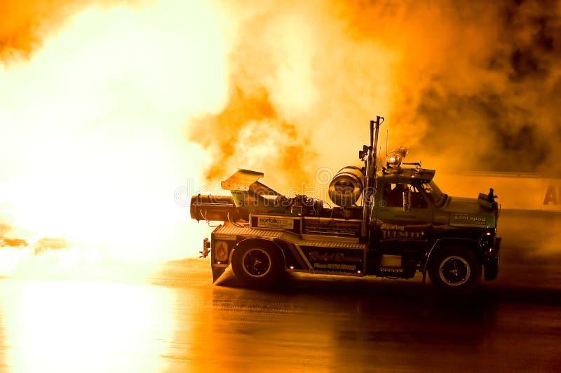 Straal vrachtwagen royalty-vrije stock afbeeldingen