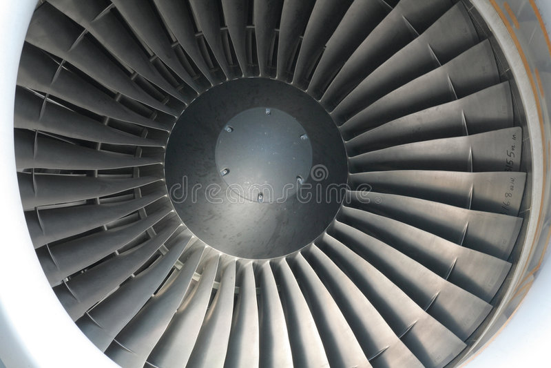 Straalmotor stock foto's