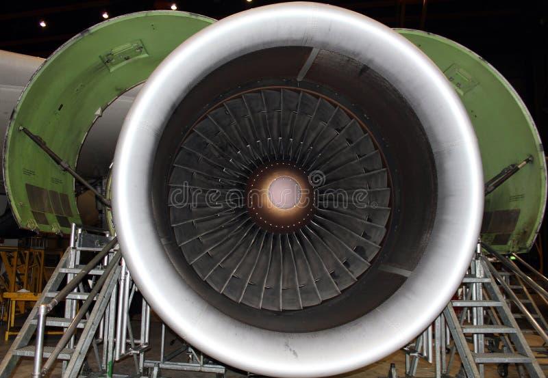 Straalmotor stock foto