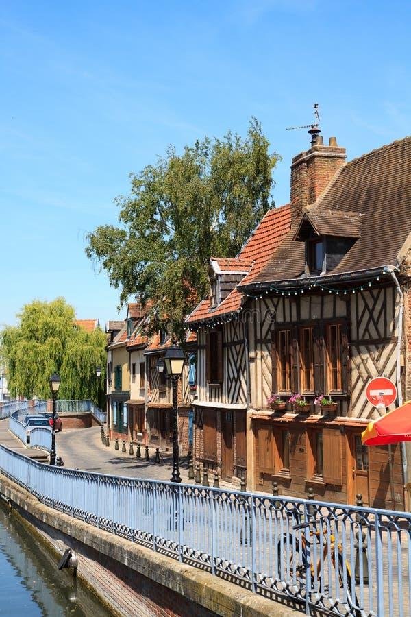 Straat in Amiens 5 royalty-vrije stock foto