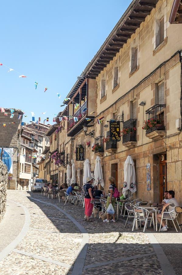 Straat in Frias royalty-vrije stock foto's
