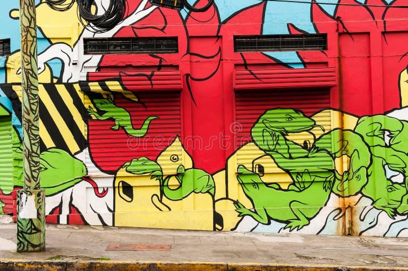 Straat Graffiti stock afbeelding