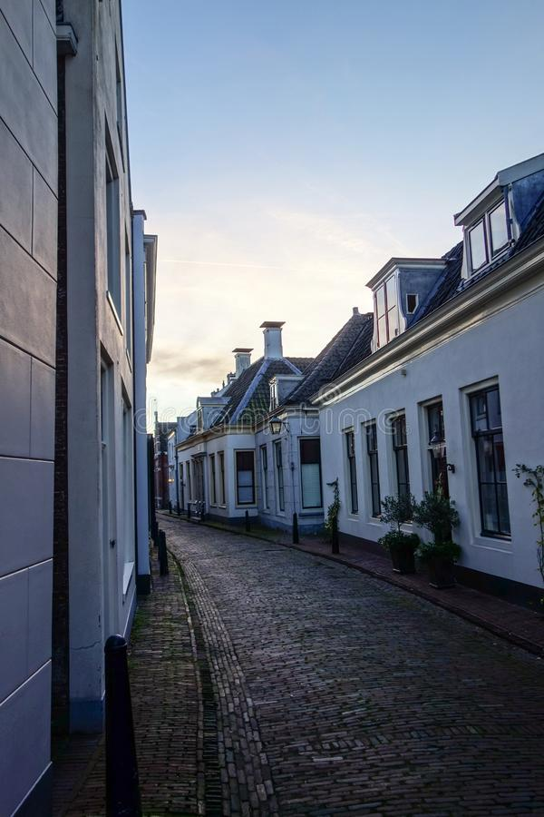 Straat in Holland royalty-vrije stock fotografie