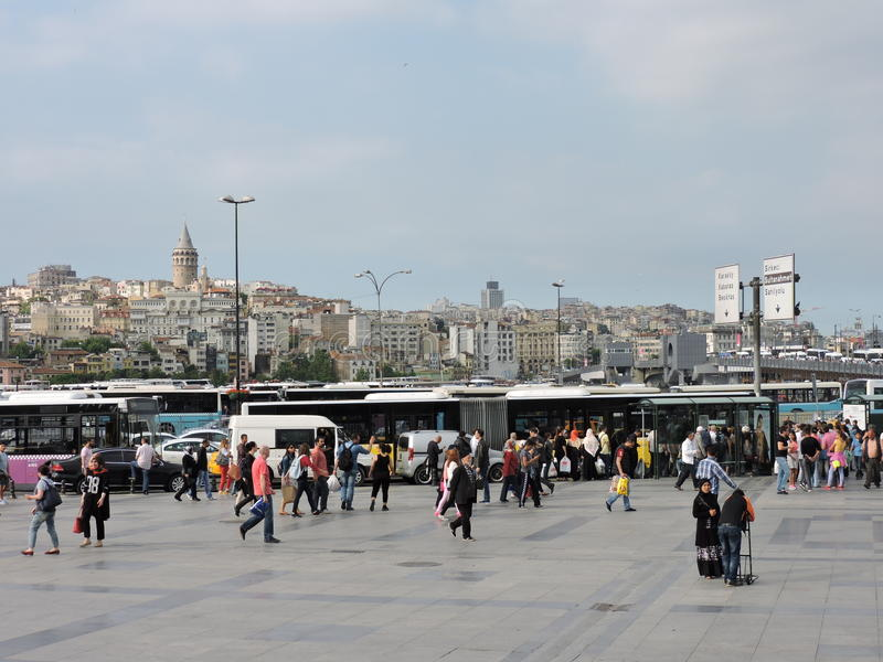Straat in Istanboel royalty-vrije stock afbeelding