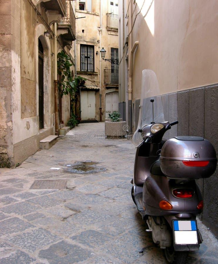Straat in Italië stock afbeeldingen