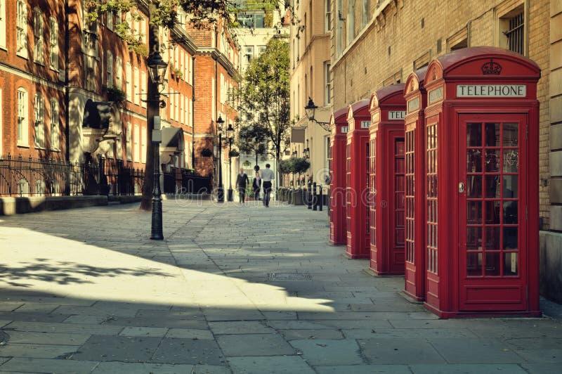Straat in Londen royalty-vrije stock afbeelding