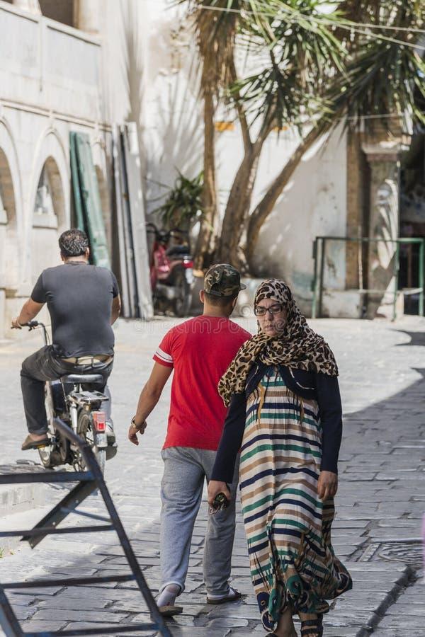 Straat in Medina royalty-vrije stock afbeeldingen