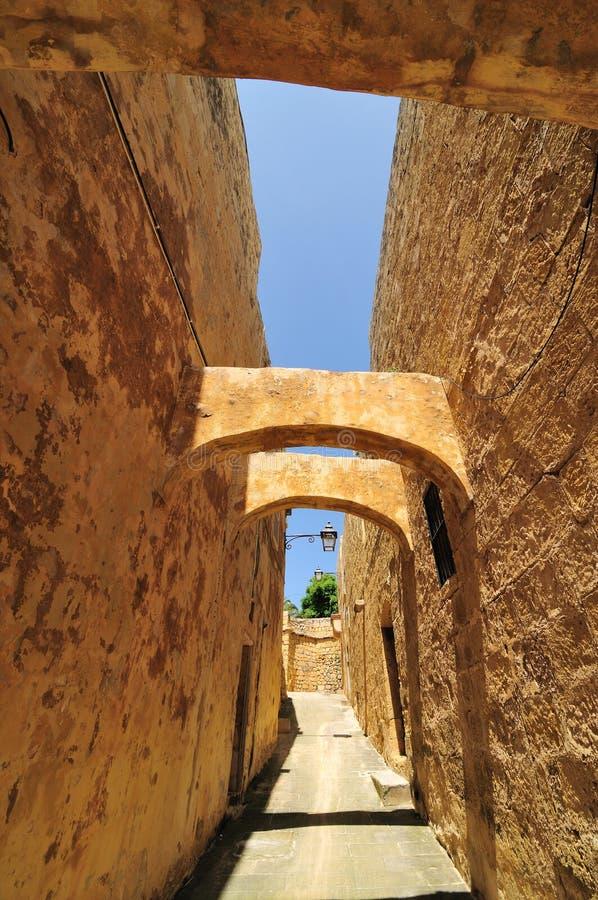 Straat in Rabat stock fotografie