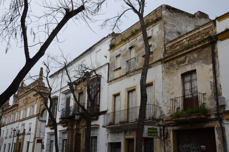 Straat van Andalusia, Spanje in het jaar van 2018 royalty-vrije stock fotografie