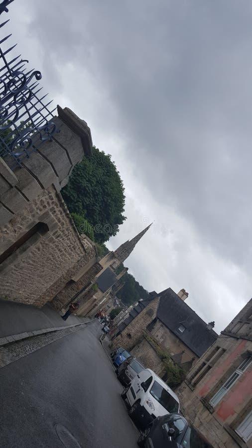 Straat van Bretagne stock afbeelding