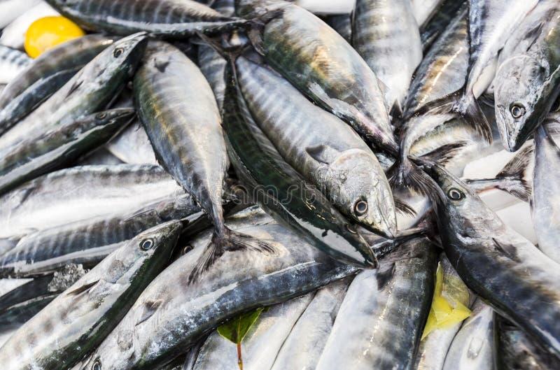 Straat van de vissen de Turkse markt royalty-vrije stock foto