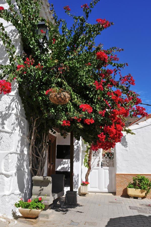 Straat van Fataga, Gran Canaria, Spanje royalty-vrije stock foto