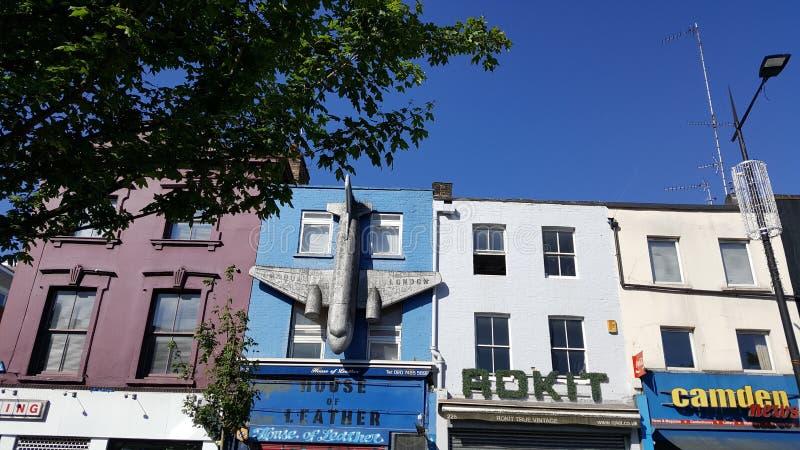 Straat van Londen stock afbeelding
